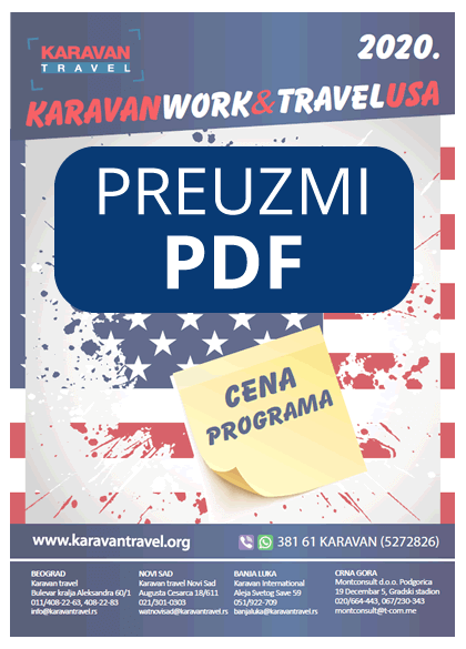 cenovnik programa work and travel
